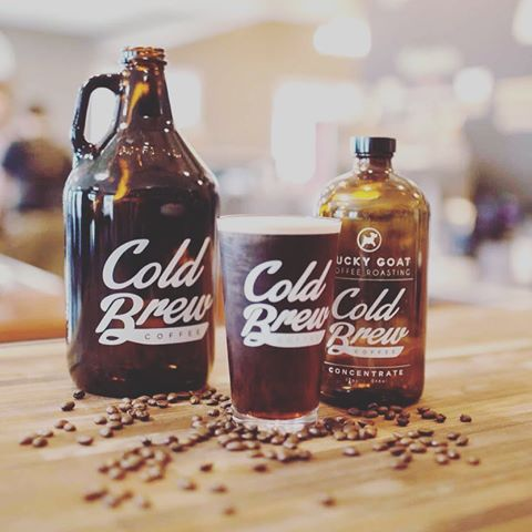 Lucky Goat Cold Brew at Beans at Betton Tallahassee