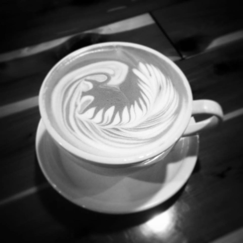 Latte Art at Beans at Betton Tallahassee